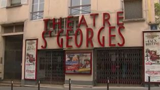 Le théâtre Saint-Georges fermé pendant le confinement (Capture d'écran France 3)