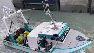 Depuis le Brexit, les pêcheurs françaissont devenus persona non grata dans les eaux de l'île de Jersey. (CAPTURE ECRAN FRANCE 3)