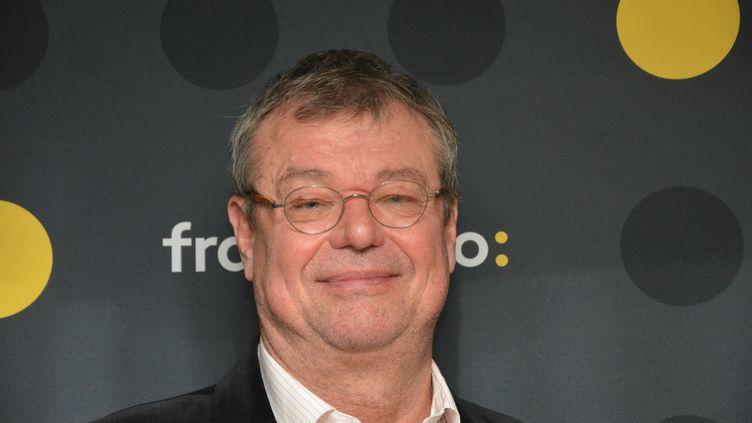 Nicolas Jacobs, médiateur de l'info de France Télévisions. (JEAN-CHRISTOPHE BOURDILLAT / RADIO FRANCE)