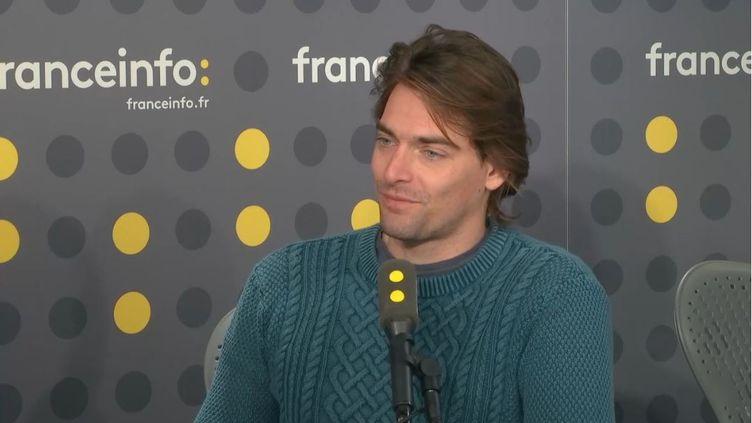 Camille Lacourt (RADIO FRANCE)