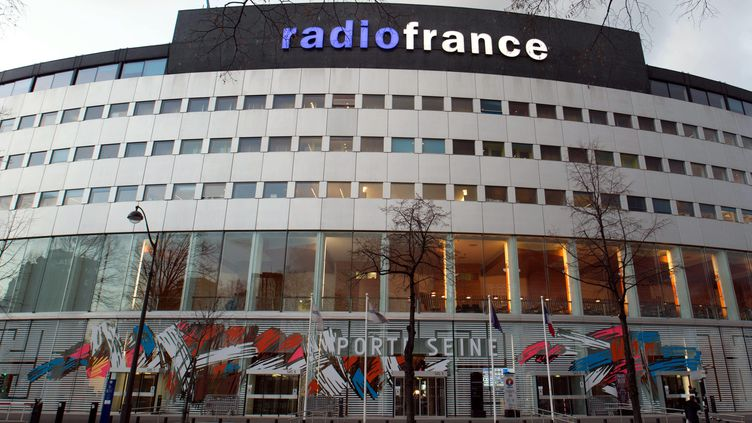 La maison de la radio en janvier 2017. (BRUNO LEVESQUE / MAXPPP)