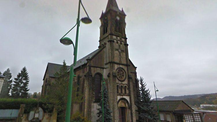 L'église Saint-Jules de Longwy, en Meurthe-et-Moselle. (GOOGLE MAPS)
