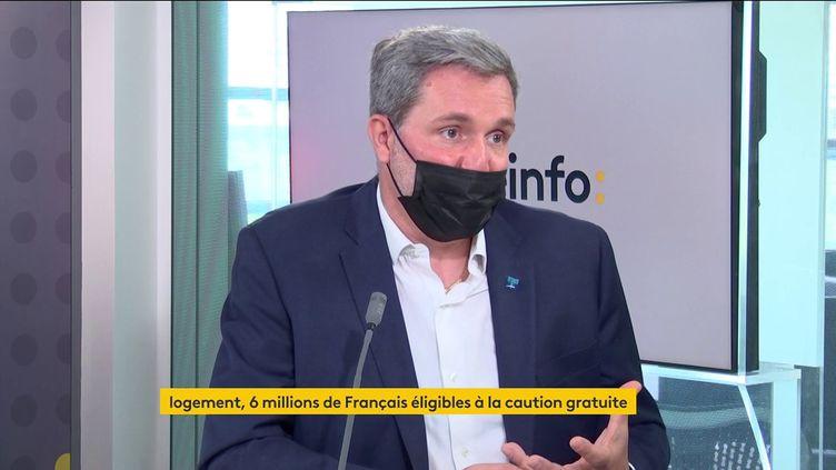 Yann Jéhanno, président du réseau Laforêt, était l'invité de franceinfo vendredi 4 juin 2021. (FRANCEINFO / RADIO FRANCE)