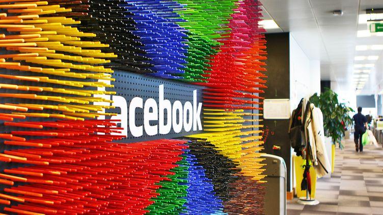 Siège européen de Facebook à Dublin, le 9 octobre 2013. (JESSICA BINSCH / DPA)