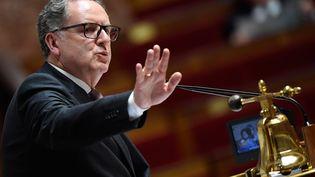 Richard Ferrand, président de l'Assemblée nationale. (BERTRAND GUAY / AFP)