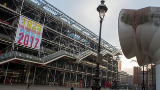 En 2017, le Centre national des arts et de la culture Georges Pompidou célèbre ses 40 ans.  (B. Levesque / IP3 Press / MAXPPP)