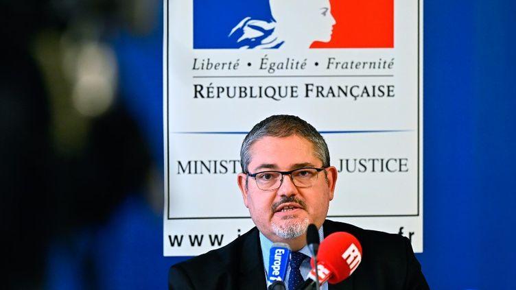 Le procureur de la République de Lorient,Stephane Kellenberger, le 15 octobre 2020. (DAMIEN MEYER / AFP)