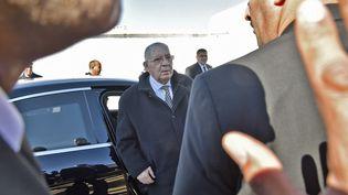 Ahmed Gaïd Salah, à Alger, le 6 février 2019. (RYAD KRAMDI / AFP)