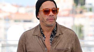 Le rappeur et acteur Joey Starr lors du festival de Cannes, le 11 juillet 2021. (VALERY HACHE / AFP)