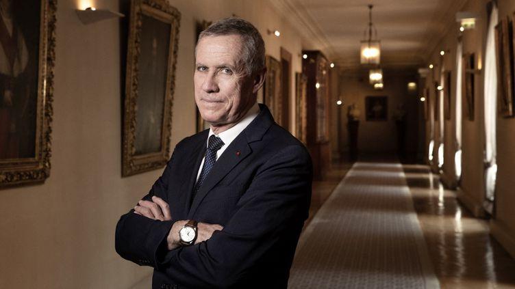 François Molins,procureur général près la Cour de cassation, pose à Paris, le 17 juillet 2019. (JOEL SAGET / AFP)