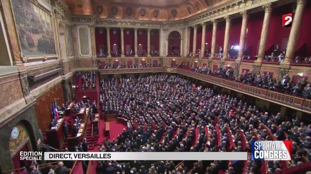 Discours de Hollande au Congrès à Versailles