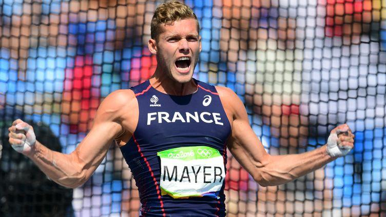 Kevin Mayer réalise des JO magnifiques (FRANCK FIFE / AFP)