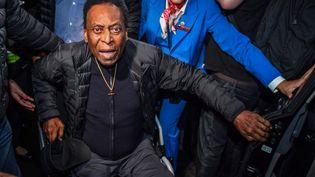 L'ancien footballeur brésilien Pelé est hospitalisé en soins intensifs à Sao Paulo. (NELSON ALMEIDA / AFP)