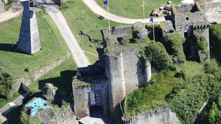 LeChâteau de Tiffauges, lieu de résidence du tyran Gilles de Rais alias Barbe Bleue  (PHOTOPQR/OUEST FRANCE)