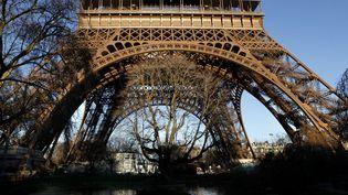 Le Tour Eiffel va être transformée en forêt virtuelle pour la COP21  (Manuel Cohen / AFP)