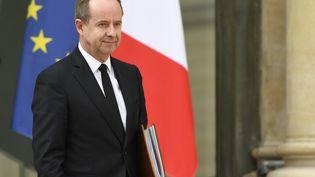 Le ministre de la Justice Jean-Jacques Urvoas à l'Élysée, le 5 avril 2017. (BERTRAND GUAY / AFP)