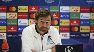 André Villas Boas, l'entraineur de l'OM, le 27 octobre 2020. (JEAN CATUFFE / AFP)