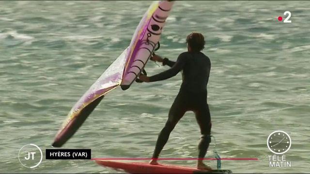 Sport nautique : le wing-foil, la nouvelle voile