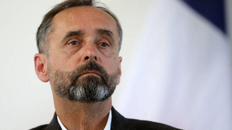 Robert Ménard le maire de Béziers (Hérault) en mai 2018 (THEILLET LAURENT / MAXPPP)