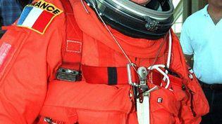 Jean-Loup Chrétien, 10 septembre 1997, Kennedy Space Center. (NASA / AFP)