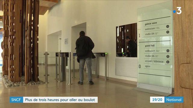 Grève SNCF : plus de trois heures pour aller au boulot
