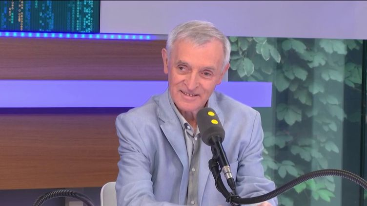 Jean Jouzel, le 15 mai 2019 sur franceinfo. (FRANCEINFO)
