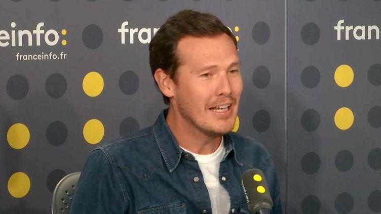Julien Degroote, le directeur du développement des contenus de TF1. (FRANCEINFO / RADIOFRANCE)