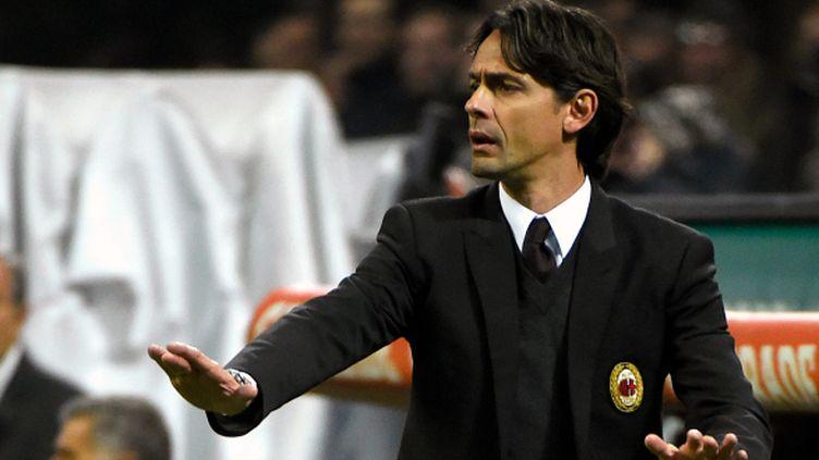 Filippo Inzaghi, l'entraîneur de l'AC Milan