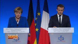 """""""Avenue de l'Europe. Défense, l'Europe serre les rangs"""". France-Allemagne : un mariage compliqué (FRANCE 3 / FRANCETV INFO)"""