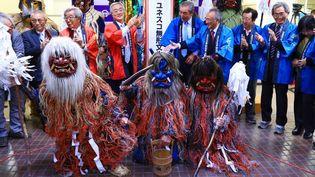 Cérémonie Raiho-shin au Japon  (Hiroto Sekiguchi / Yomiuri / The Yomiuri Shimbun)