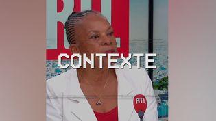 Christiane Taubira. (FRANCEINFO)