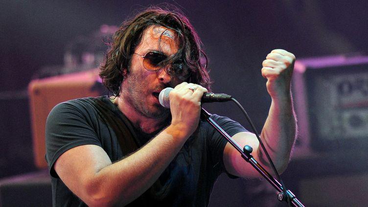 Le chanteur Damien Saez aux Francofolies en 2013.  (Xavier Leoty / AFP)
