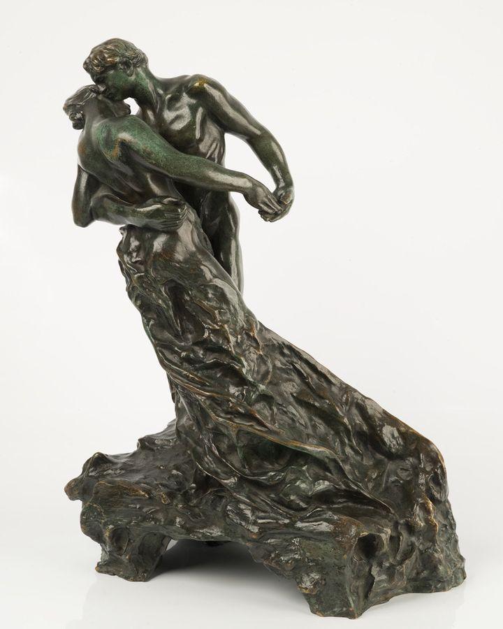 """""""La Valse"""" bronze de Camille Claudel édité en 1905 (Musée de Poitiers / Christian Vignaud)"""