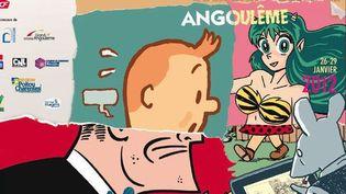 L'affiche 2012 signée Art Spiegelman  (Festival International de la Bande Dessinée d'Angoulême)