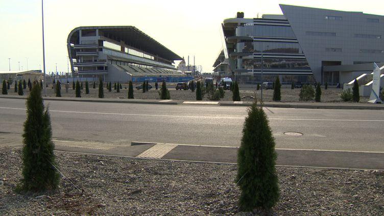 Le site pour le Grand Prix de Sotchi (Russie), le 24 février2014. (CITIZENSIDE / ALEXEY SERGEYEV )
