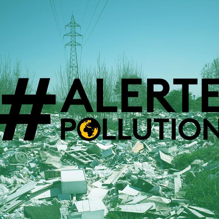 Des entreprises jettent leurs déchets dans la nature à Poissy (Yvelines), le 20 avril 2018. (PHILIPPE LOPEZ / AFP)