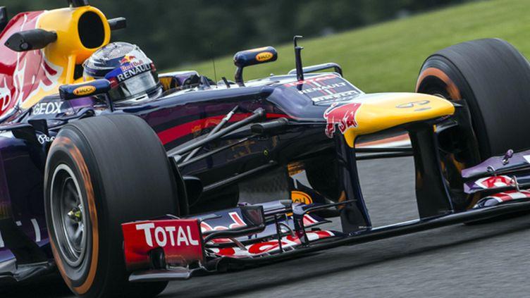Sebastian Vettel  (NICOLAS LAMBERT / BELGA)