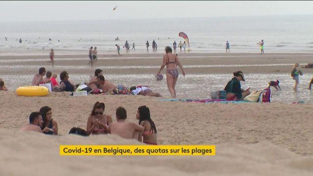 Coronavirus : des quotas imposés sur des plages en Belgique