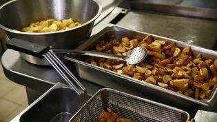 Des denrées alimentaires dans une cantine scolaire. (MAXPPP)