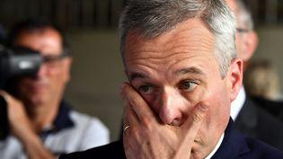 François de Rugy, le 11 juillet 2019. (GEORGES GOBET / AFP)