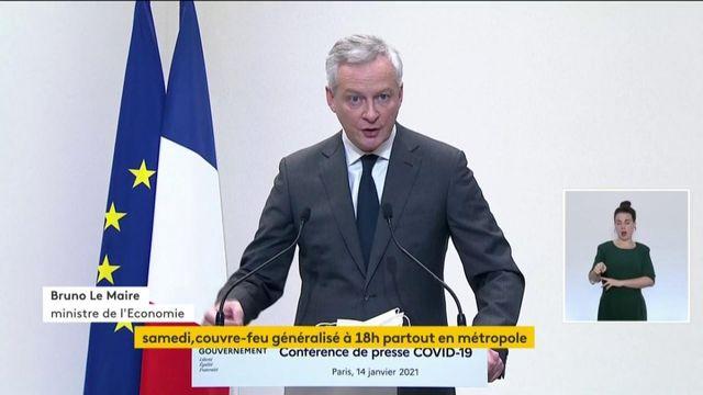 """Bruno Le Maire : """"trois modifications majeures pour le fonds de solidarité"""""""