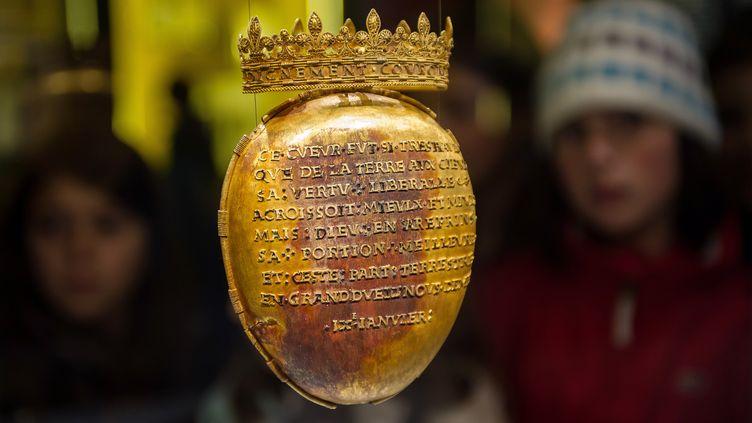 L'écrin du coeur d'Anne de Bretagne, en 2014. (GUILLAUME SOUVANT / AFP)