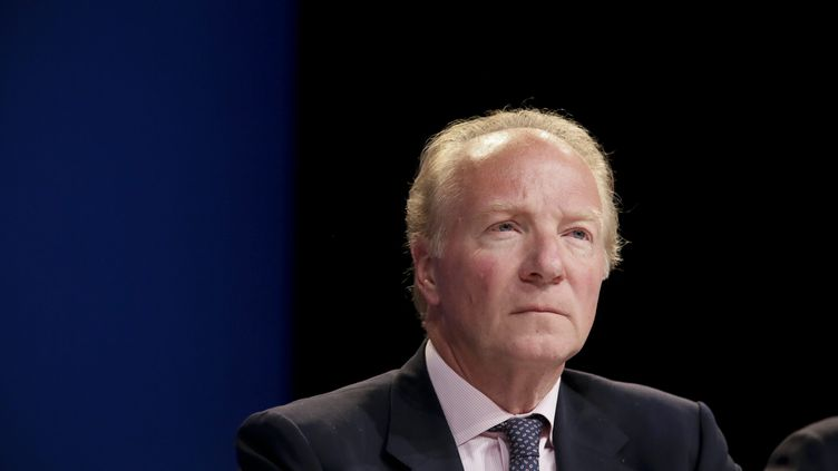 Brice Hortefeux, le 21 mai 2014 lors d'un meeting organisé à Paris. (MAXPPP)