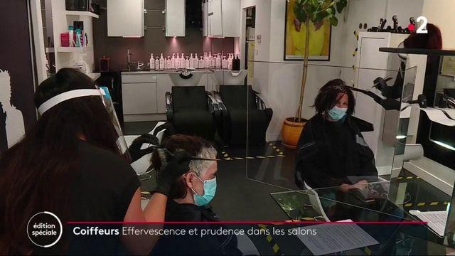 Déconfinement : effervescence et prudence dans les salons de coiffure