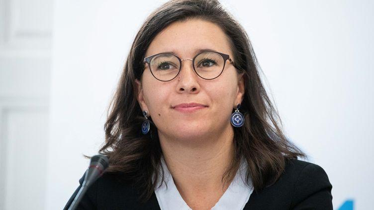 Fiona Lazaar, en octobre 2018. (CHRISTOPHE MORIN / MAXPPP)