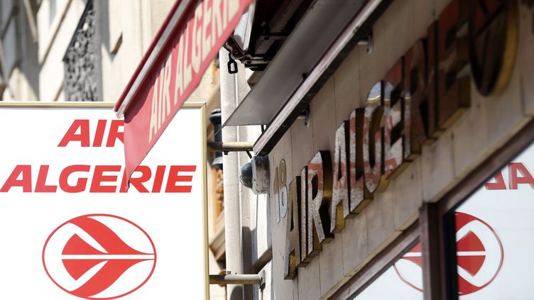 (Les locaux d'Air Algérie à Paris © MAXPPP)