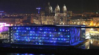 Le MuCEM, bâtiment à l'architecture audacieuse.  (Claude Paris/AP/SIPA)