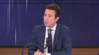 Guillaume Peltier, vice-président délégué des Républicains. (FRANCEINFO / RADIOFRANCE)
