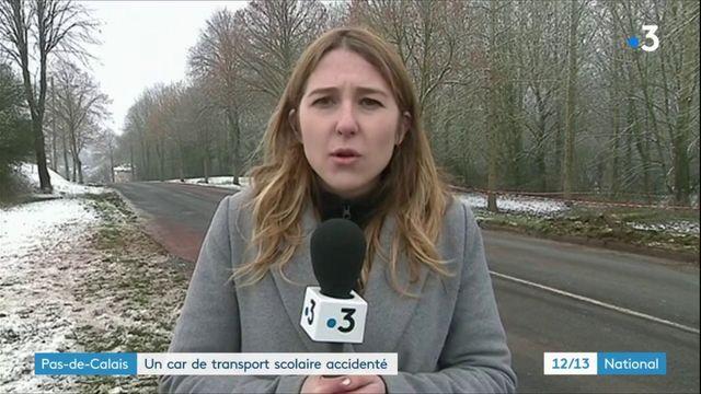 Pas-de-Calais : accident entre un car scolaire et un camion