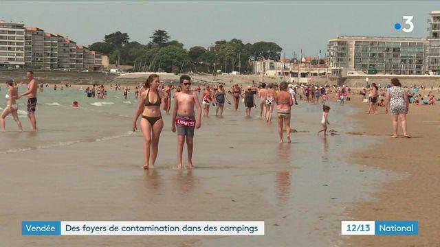 Vendée : des clusters de Covid-19 dans les campings